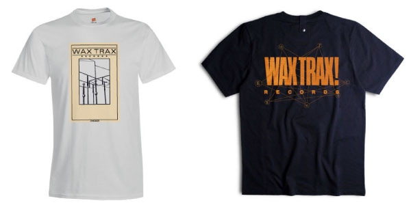 REWARDS: Original Wax Trax! Wire Logo and Official Monumentary Shirt