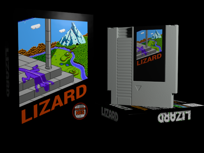 Put on a lizard and go for an adventure! A new game for Nintendo Entertainment System, PC, and Mac.