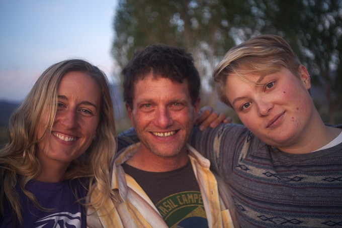 Crew members on set in Utah ©Tara Darby