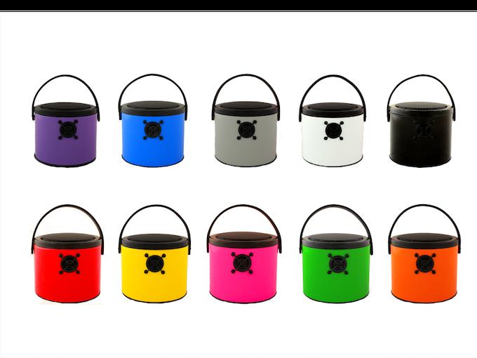 All the fabulous regular colour SoundBuckets