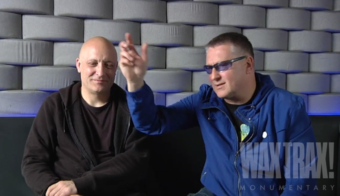 FRONT 242 Members, Patrick Codenys & Richard 23