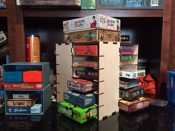 Game storage after our Cube