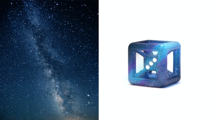 Actual Milky Way / Milky Way Die (Honorary Galactic Series member - available in $15 category, $25 category $30 category and collectors pack #3)