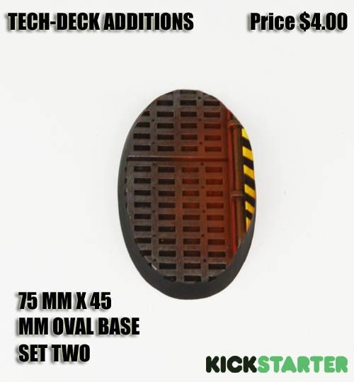 75 mm x 45 mm Tech-Deck Set Two