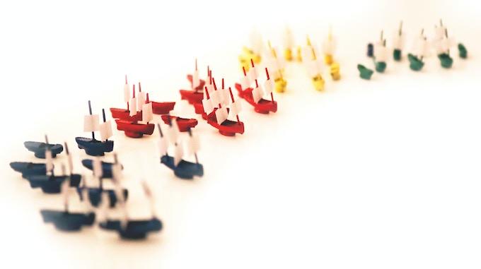 41 Miniature Model Ships