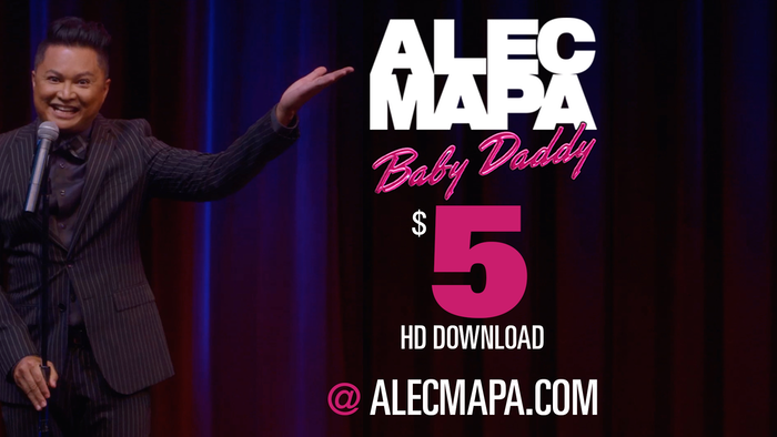 Actor/comedian Alec Mapa's Showtime special is now available for $5 at alecmapa.com!
