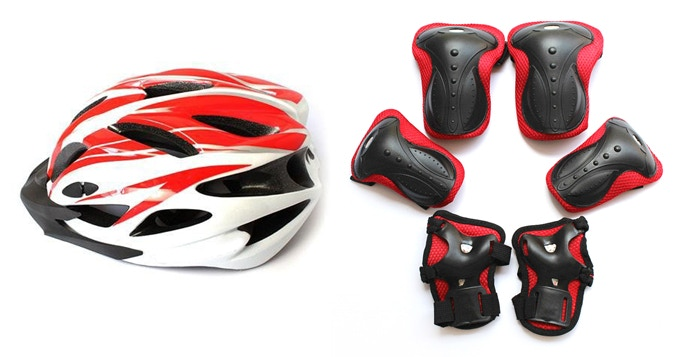 INCLUDED SAFETY EQUIPMENT (colours may differ)