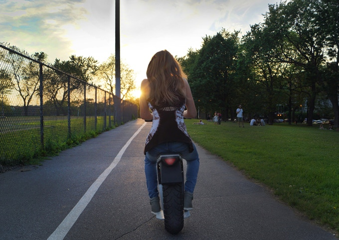Riding Into the Sunset in Style