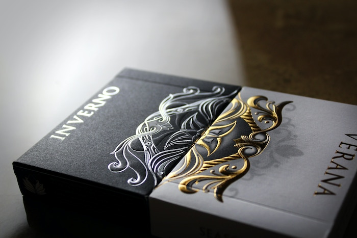 The first playing card series that transforms over time, capturing inspiring moments of duality through a luxury collection.