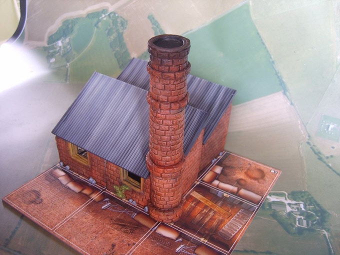 Dibnah's Factory (supplied unpainted)