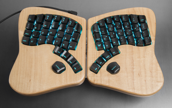 The Keyboardio Model 01