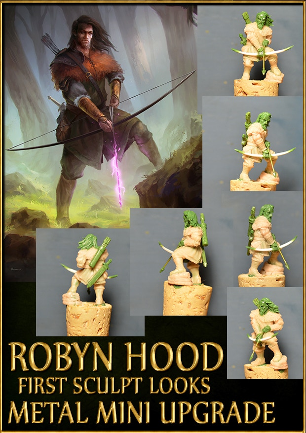 Official Sherwood's Legacy Robyn Hood Sculpt
