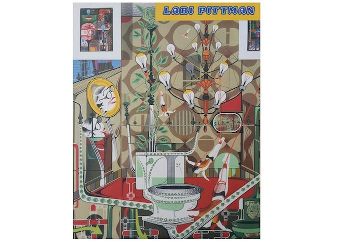 £20: Lari Pittman, Paintings 1992-1998, catalogue, (21.5cm x 27.9cm).