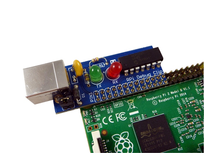 Making using the serial terminal on the Raspberry Pi as easy as Pi!