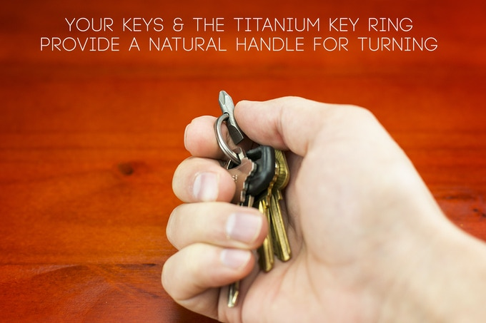 Using the bit feel as natural as holding your keys.
