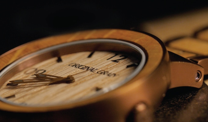 Real Wood Dial