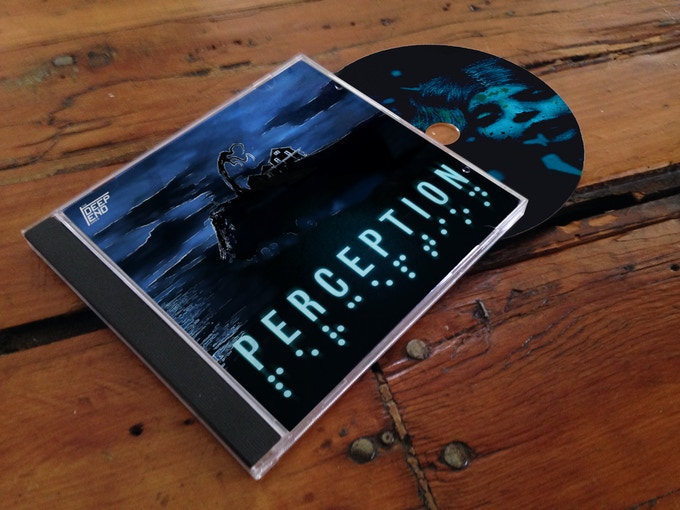 A physical copy of Perception (art subject to change)
