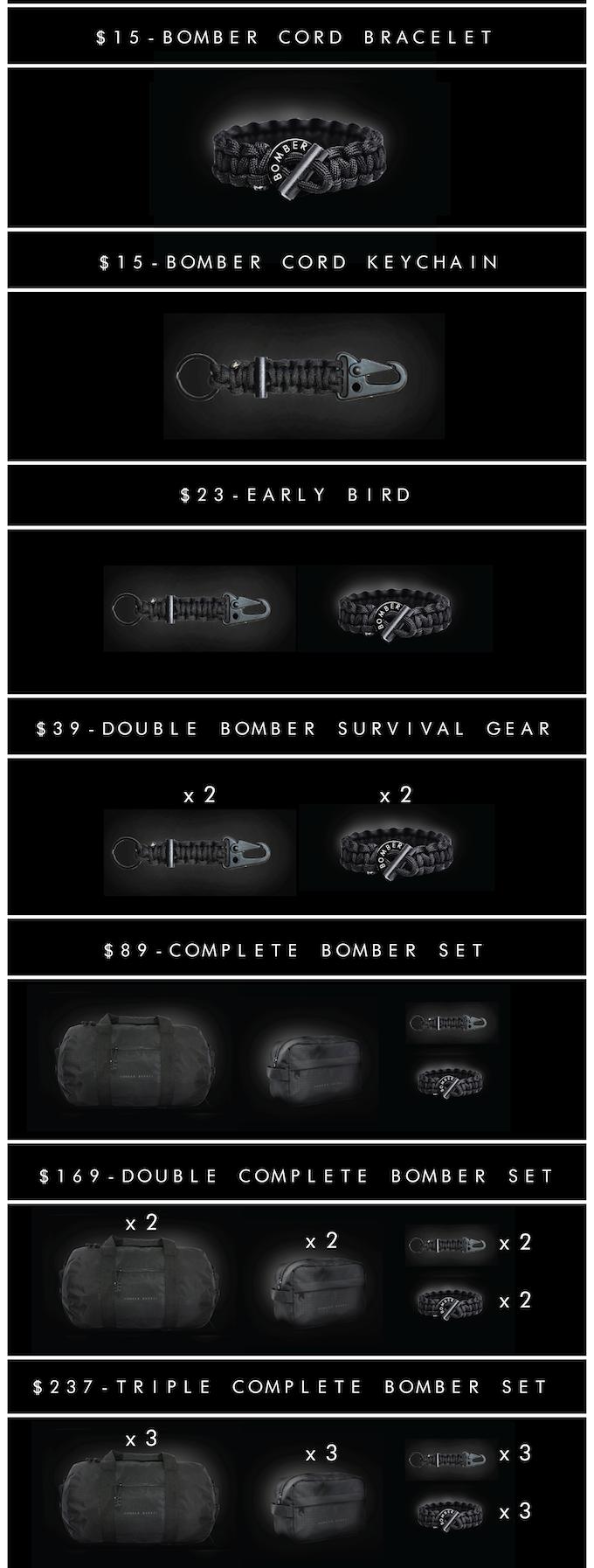 Bomber & Company - Paracord Survival Gear