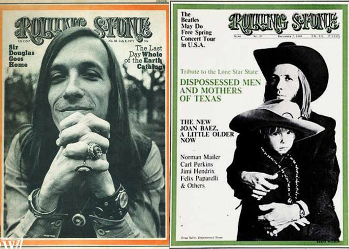 Doug Sahm, Rolling Stone Covers 1968 & 1971