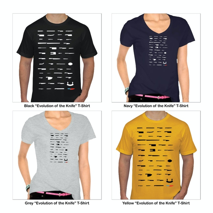"NextGen ""Evolution of the Knife"" T-Shirt"