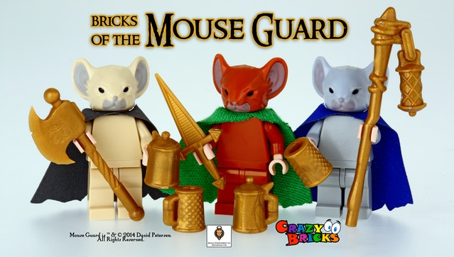 Bricks of the MOUSE GUARD for your Miniature Figures by ...