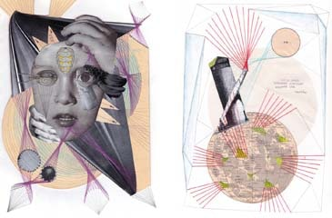 collages by Fehmi Baumbach