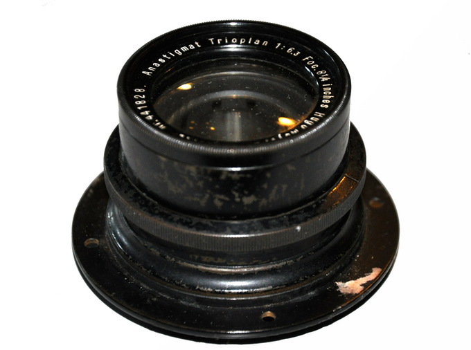 early Trioplan lens, dated around 1920