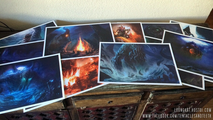 Cthulhu Wars art used under license from Green Eye Games