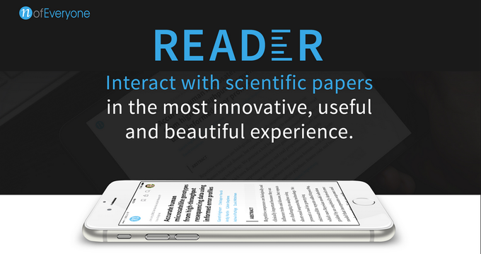 Give us your thesis (or favorite article) and we'll plug it into Reader. When it's ready, you'll receive a URL to show off your work - no further hassle required.