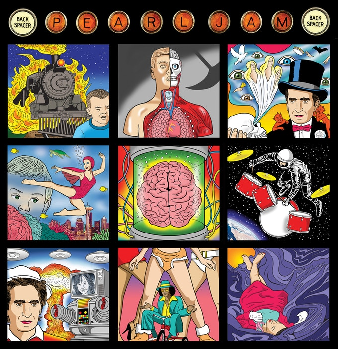 Backspacer cover