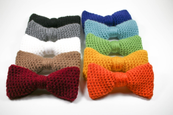 Crobow Handmade Crochet Bow Ties By Tim Aton Kickstarter