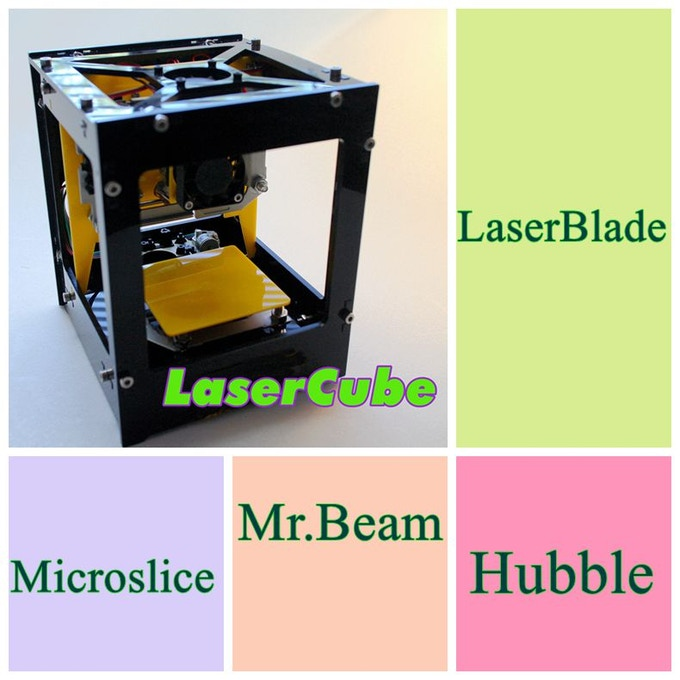 Laser Cube 2 0 + EasyGcode Software for All Laser Machines by Wei