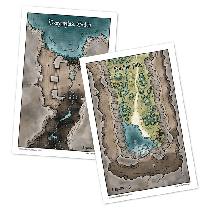 Color versions of 2 of the maps for online use. Printed versions will be black and white.