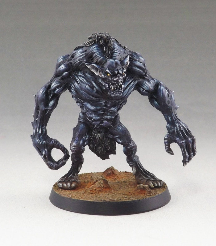 Resin master painted by Martin Grandbarbe
