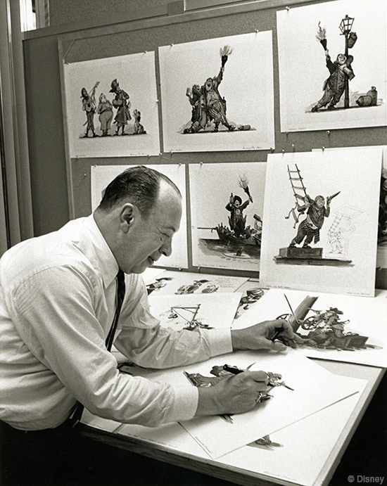 The great Marc Davis at work