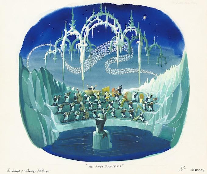 Marc Davis - Enchanted Snow Palace concept art