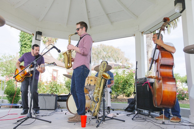 The Red Fox Tails at Magee Park 2014