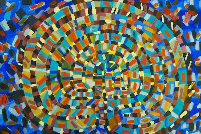Labyrinth Painting 2015