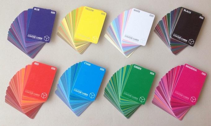 216 Colour Cards  |  8 Colour Decks