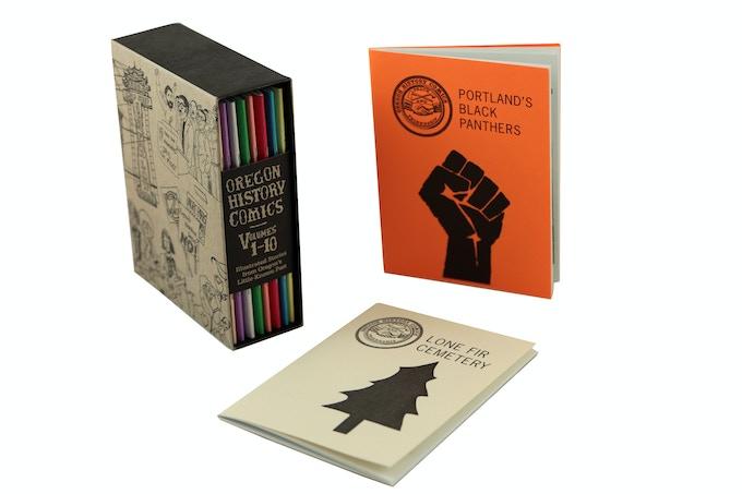 Oregon History Comics –e-mailed to you! $15