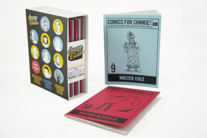Comics For Change! – e-mailed to you! $15