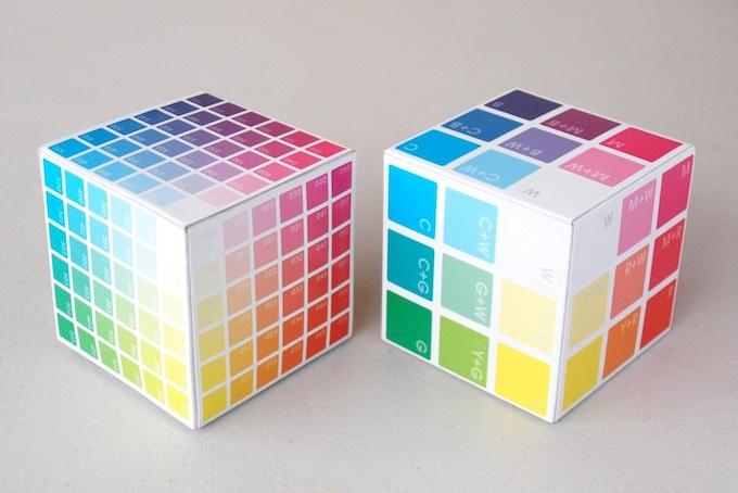 Mini Cube and 'Colour Basics' Cube