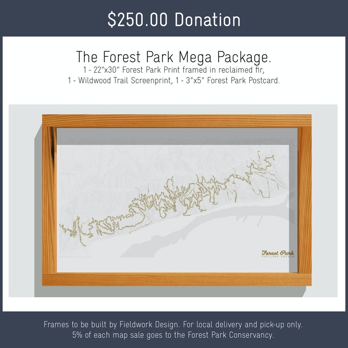 Forest Park: The first print in the Olmsted Series. by Allison Bryan ...