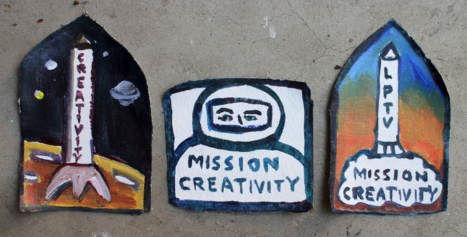 Official Mission Creativity patches