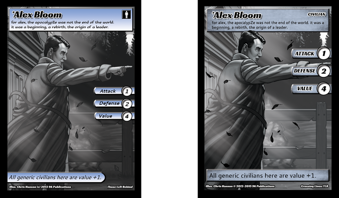 Original and New Alex Bloom Side by Side