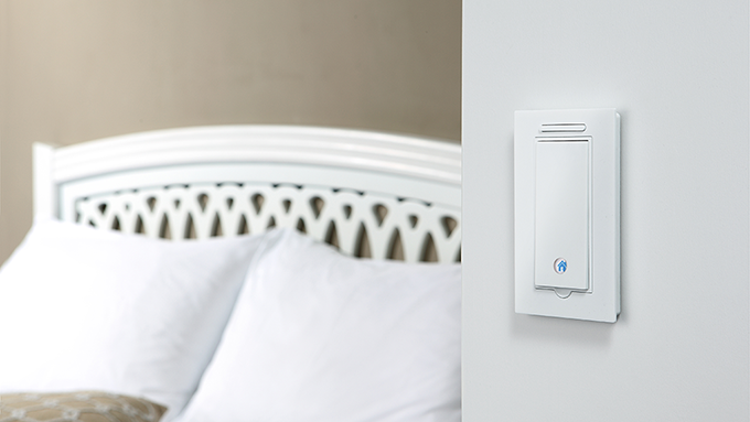 Gecko switch in your bedroom.