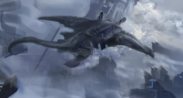 Concept of Air Whale by Morgan Ogburn