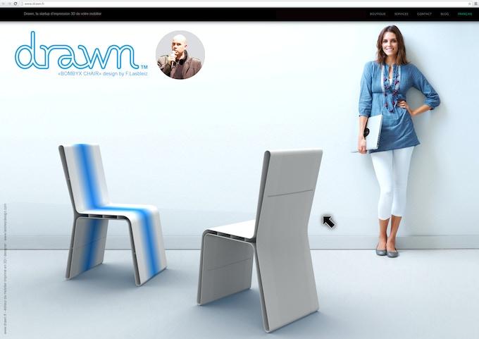 Bombyx Chair by Florent Lasbleiz