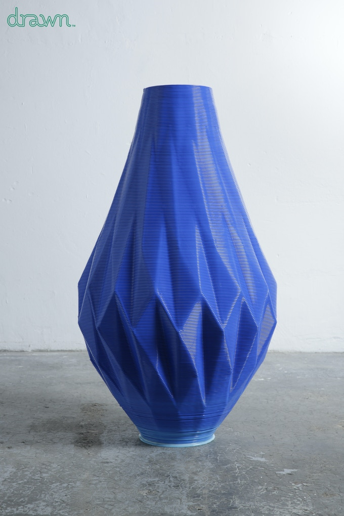 Large vase by Samuel Javelle