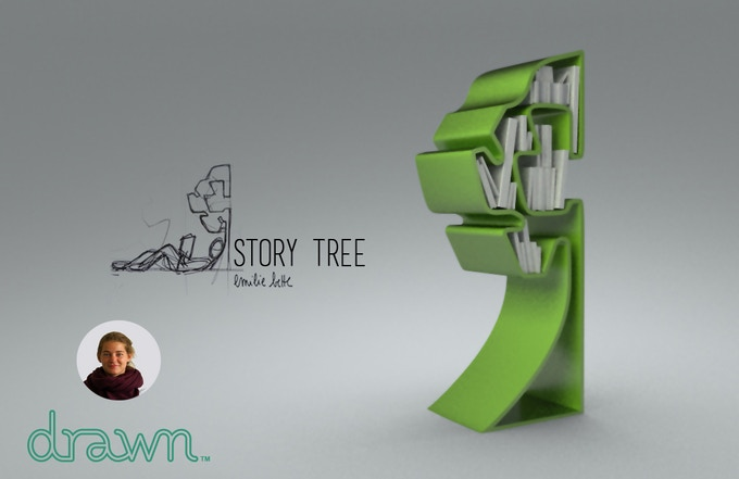 Story tree by Emilie Bette